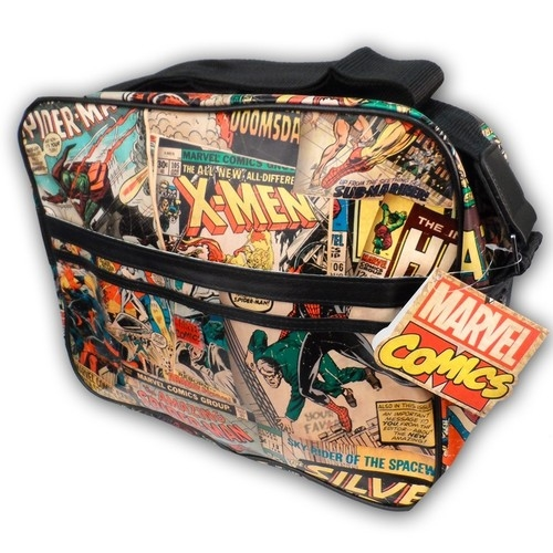 Spider-Man X-Men Classic Covers Marvel Comics Messenger Bag Licensed