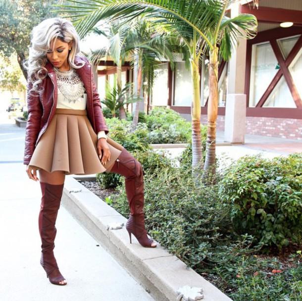 skirt skater skirt circle skirt flower skirt blouse jacket jewels shoes top