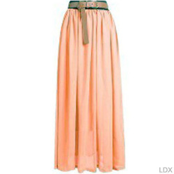 Online Shop Hot Sale New 2014 Women Amazing Sexy Chiffon Long Skirt Fashion Hot Sales Bohemian Princess pleated Skirt High Quality WF-023|Aliexpress Mobile