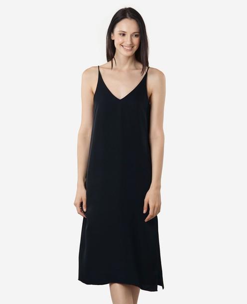 Dress Silk Dress Black Dress Little Black Dress Classic Sexy