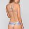 Tucker bikini bottom in blue ginger