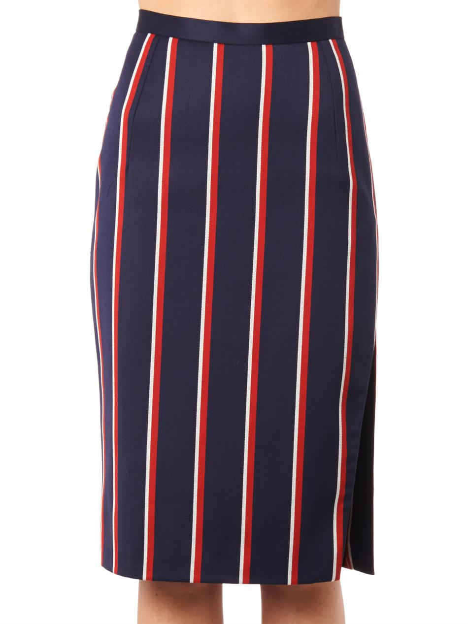 Faun striped pencil skirt | Altuzarra | MATCHESFASHION.COM