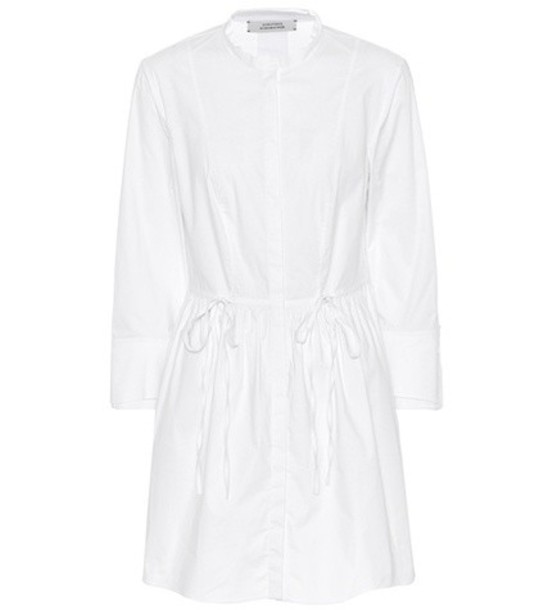 Dorothee Schumacher dress shirt dress casual chic casual chic cotton white