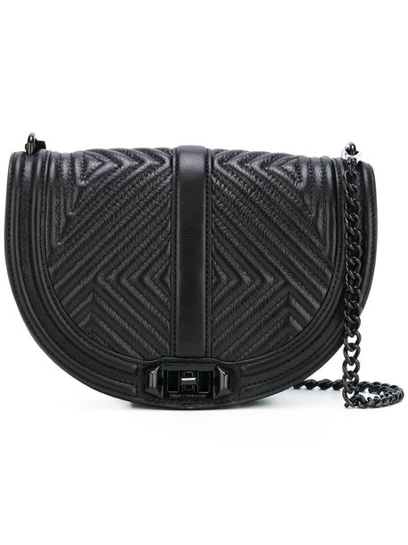Rebecca Minkoff cross women bag black