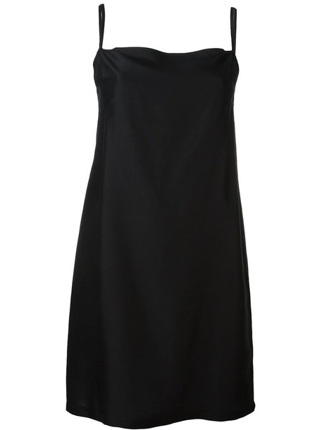 ANN DEMEULEMEESTER top back long open open back black