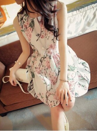 dress floral girly pretty