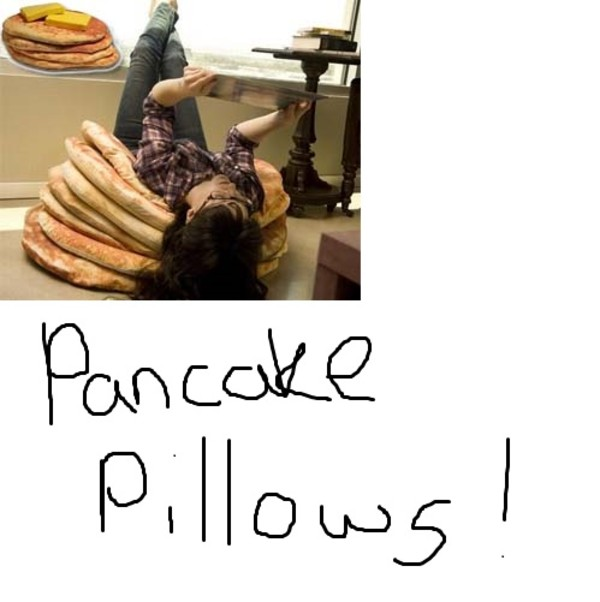underwear pancake pillow bean bag