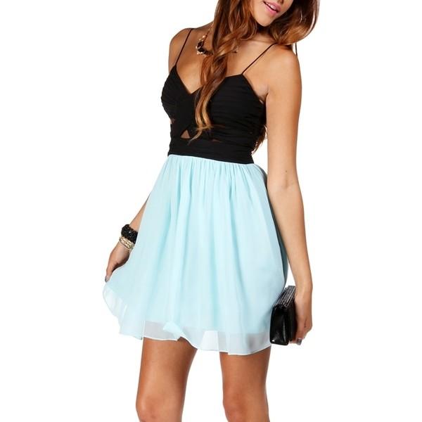 Logan Elly-Black Prom Dress