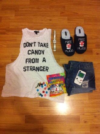 pajamas denim shorts festina candy phone cover