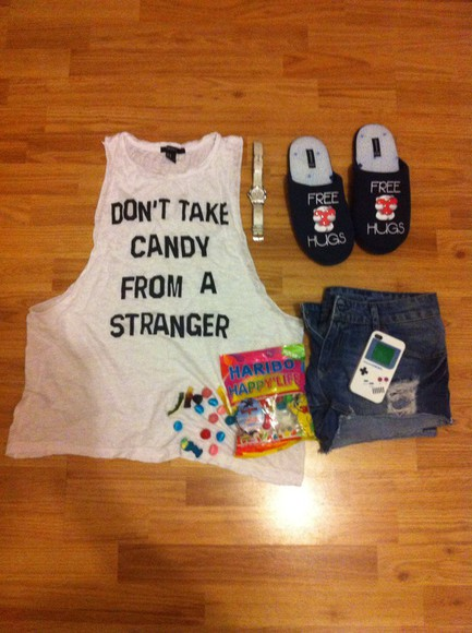 pajamas denim shorts festina candy phone case