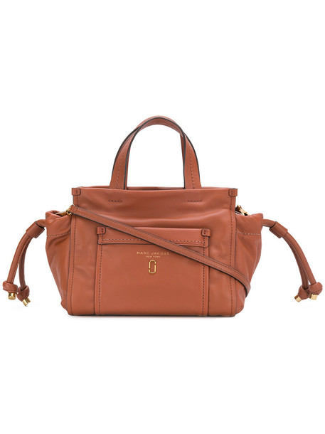 Marc Jacobs women leather brown bag