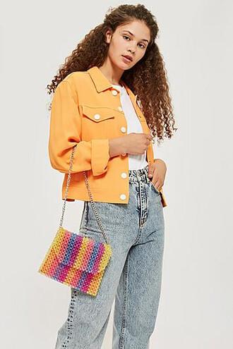 beaded bag shoulder bag