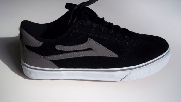 shoes blackandgrey lakai footwear skate shoes
