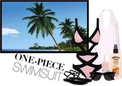 swimwear,one piece swimsuit,pink swimwear,black swimwear