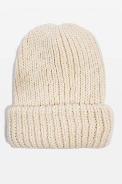 Topshop hat cream