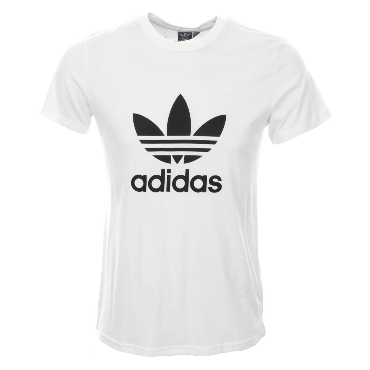 Adidas Originals Trefoil Logo T Shirt White