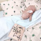 home accessory,yeah bunny,bedding,pillow,cotton,cactus,cacti,cactus print,succulent,plants,etsy