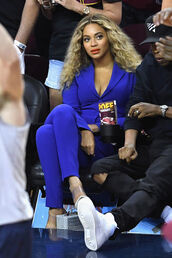 pants,blue,suit,blazer,beyonce,jacket