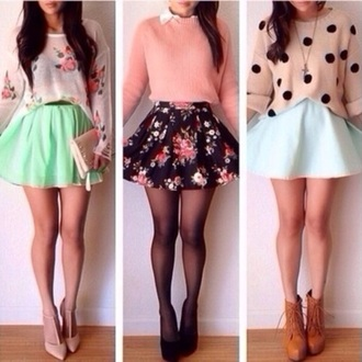 skirt high waisted short light material