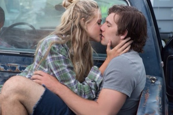 shirt plaid shirt flannel green long hair pretty girl half up hair dress grey tee sexy gabriella wilde alex pettyfer endless love