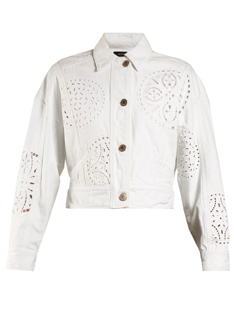 jacket denim jacket denim white