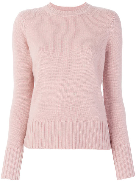 Max Mara sweater women purple pink