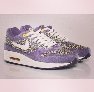 shoes nike shoes air max liberty purple shoes