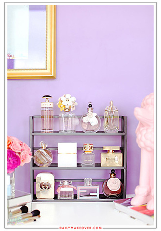 home accessory beauty organizer perfume bathroom