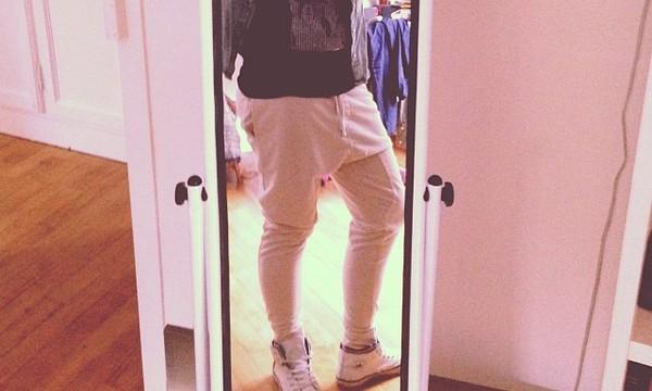 pants baggy swag swag swag harem pants joggers hipster