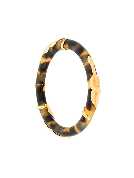 Gas Bijoux snake women gold brown jewels