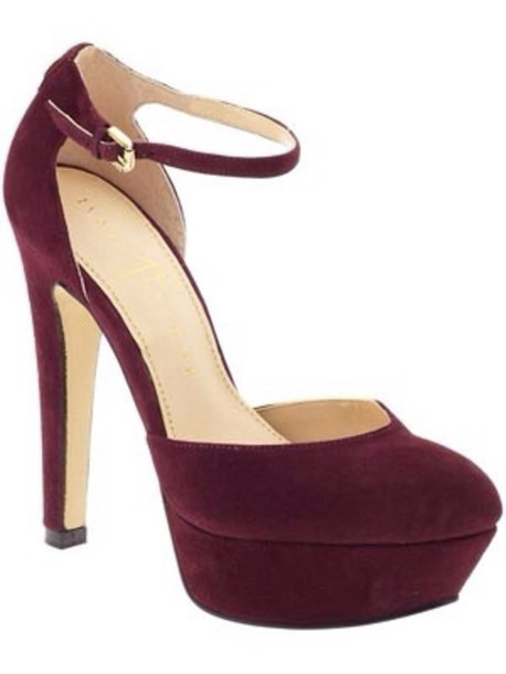 7747a80974f shoes pumps burgundy high heels dark red