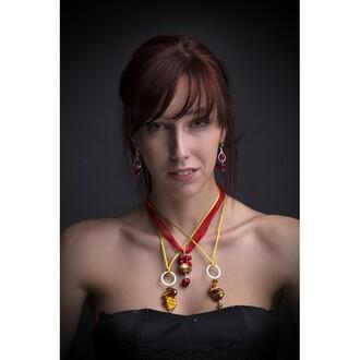 jewels murano murano jewelry venetian jewelry necklace earrings glass earrings glass pendant elegant jewelry classy jewelry romantic jewelry heart earrings handmade statement necklace glass murano glass