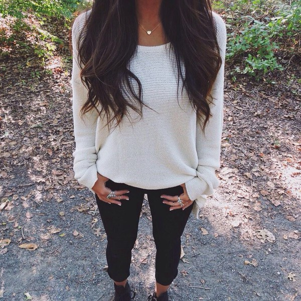 sweater necklace fall sweater fall outfits fashion jewels