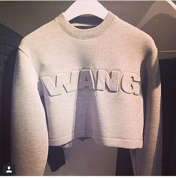 alexander wang t-shirt h&m crewneck