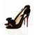 Black Christian Louboutin Etneu Etneu 100mm Slingbacks Red Sole Shoes