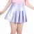 Glitters For Dinner — Made To Order - Purple Hologram Pleated Skirt