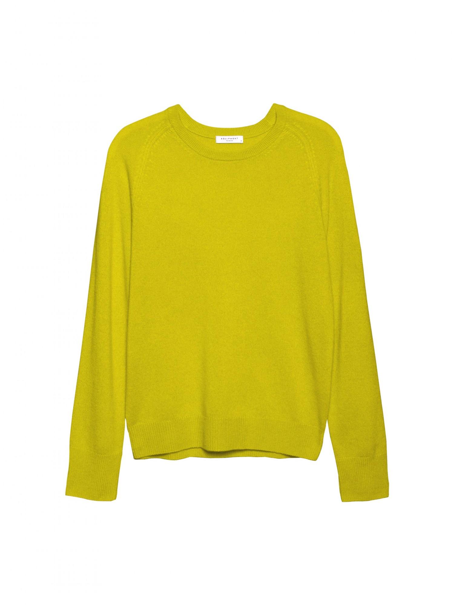 Sloane Crew Citronelle | Crew Neck Cashmere Sweater