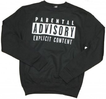 Amazon.com: 21 Century Clothing Unisex-Adult Parental Advisory Sweater: Clothing