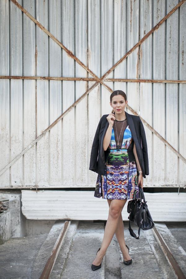 irene closet blogger jewels jacket bag