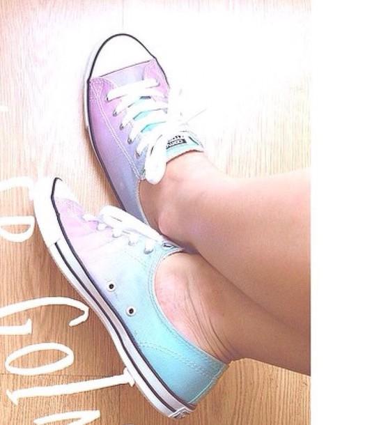 shoes converse ombre purple blue turquoise violet deedcaad1bfa