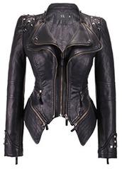 jacket,black,leather jacket,trendy,punk rock,biker
