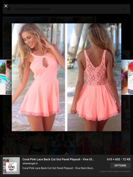 dress beach dress peach dress lace dress