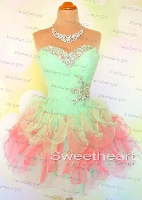 Sweetheart Girl | Cute Sweetheart Neckline Ball Gown Short Prom Dresses, Prom Dress 2014 | Online Store Powered by Storenvy