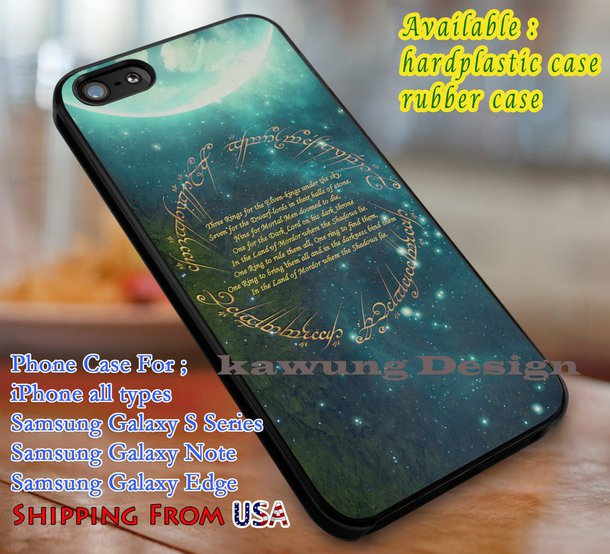 lord of the rings iphone 6 case