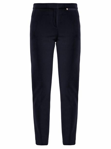 VERSACE navy pants