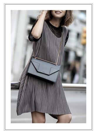 fake leather blogger coat dress bag top shoes jewels sunglasses