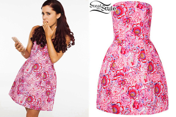 dress ariana grande cat valentine rose