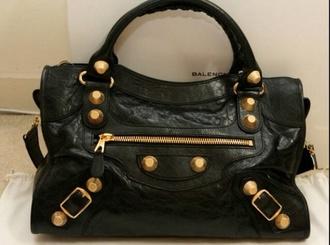 bag black balenciaga balenciaga bag luxe