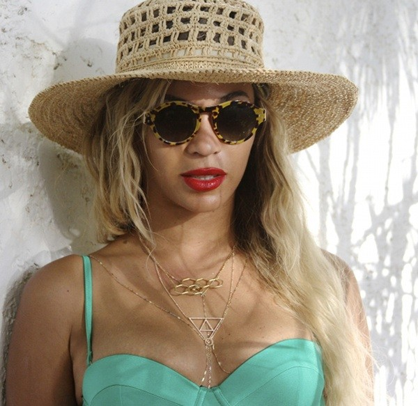sunglasses beyonce tank top