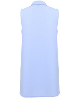 LOVE Powder Blue Biker Dress - In Love With Fashion